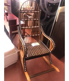 Кресло качалка (лоза)