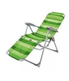 Кресло-шезлонг складное 3 с подножкой К3
