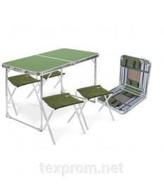 Набор складной мебели Nika стул + 4 стула ( ССТ-К3)