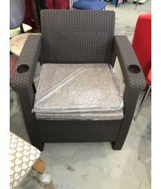 набор из 2-х плетеных кресел + 2 подушки