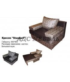 """Кресло """"Стандарт"""" еврокнижка"""