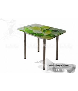 Обеденный стол с принтом
