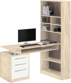 Стол компьютерный со стеллажом 10.04 (Боровичи)