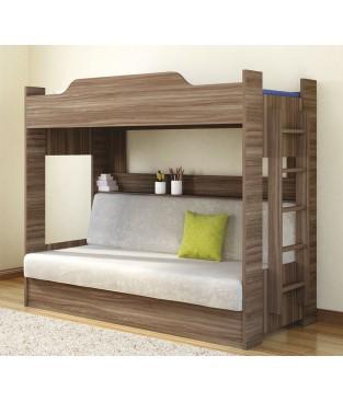 Двухъярусная с диван-кроватью (Боровичи)