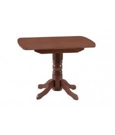 Стол раздвижной овальная крышка массив (Боровичи)