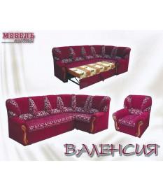 """Угловой диван """"Валенсия""""+кресло"""