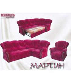 """Угловой диван """"Мартин"""" +кресло"""