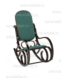 Кресло-качалка плетёное RC-8001 (Роял Грин)