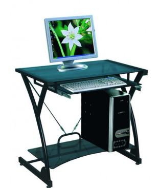 Стол компьютерный Dark Wader WRX-01 черное (тонированное) стекло