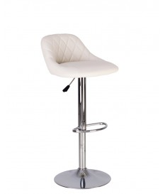 Высокий барный стул Камилла с мягкой спинкой
