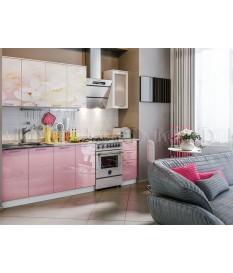 Кухня фотопечать Вишневый цвет