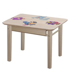 Стол детский массив прямоугольный (Боровичи)