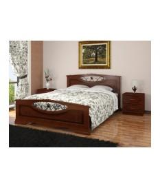 Кровать Елена-5 с элементами художественной ковки